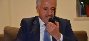 Bakan Arslan, telsizden anons yaparak polislerin Regaip Kandili'ni kutladı
