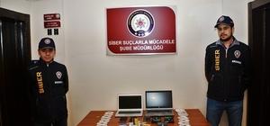 Erzurum'da ATM dolandırıcılarına suçüstü