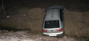 Konya'da otomobil şarampole devrildi: 7 yaralı