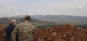 Vali Ata'dan Suriye sınırında inceleme