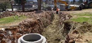 Ergani ve Silvan ilçelerine 9 bin metre kanalizasyon döşeniyor