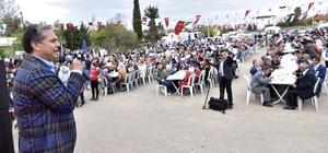 Başkan Uysal, Ermenek Mahallesi'nde halk gününe katıldı