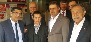 Milletvekili Halil Fırat referandum çalışmalarına devam ediyor