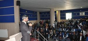 Sincik'te 'Asımın Nesli 15 Temmuz'  konulu konferans düzenlendi