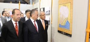 Edirne'de 'Fatih Sultan Mehmet Han ve Edirne'de Fatih devri eserleri' ile 'Türk İslam sanatları' karma sergisi açıldı.