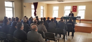 Başkan Vekili Alibeyoğlu, belediye personelleriyle toplantı yaptı