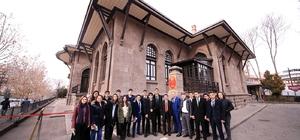 Merkezefendi okul başkanları Avrupa'ya taşındı