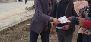 Saray'da referandum çalışması