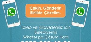 Çaldıran Belediyesinden WhatsApp hattı
