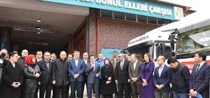 """Tuzla Belediyesinden Van'ın Saray ve Özalp ilçelerine """"Kardeşlik Köprüsü"""""""