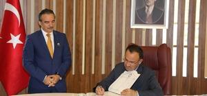Adalet Bakanı Bekir Bozdağ NEÜ Rektörü Bağlı'yı ziyaret etti