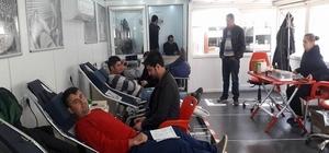 Cide'de 97 ünite kan bağışı yapıldı