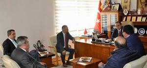 CHP Sivas Milletvekili Akyıldız'dan, Başkan Çiftçi'ye ziyaret
