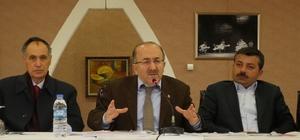 Başkan Gümrükçüoğlu Akçaabat ve Düzköy'de çalışmalarını anlattı