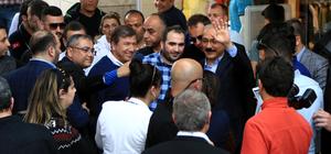 Kalkınma Bakanı Elvan Mersin'de