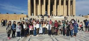 Bahçesaraylı 72 öğrenci Ankara ve Çanakkale'ye gitti