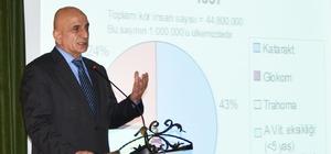 """Kırklareli Üniversitesinde """"Optisyenlik Mesleğinde Kariyer"""" semineri"""