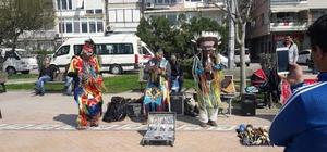 Gemlik Sahili'nde Kızılderili konseri