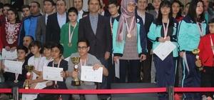 Okul sporları bölge satranç turnuvası ödül töreni yapıldı