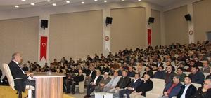 Seydişehir'de bilgilendirme konferansı