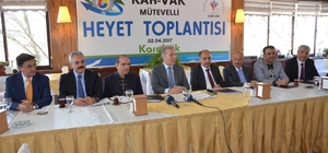 KAR-VAK Mütevelli Heyet toplantısı Karabük'te yapıldı