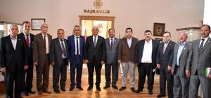 Ziraat Odaları'ndan Başkan Gürün'e Ziyaret