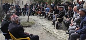 Van Büyükşehir Belediyesi yöneticilerinden Bahçesaray'a ziyaret