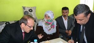 Vali Yavuz'dan yardıma muhtaç aileye destek talimatı