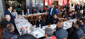 Başkan Yazgı sanayi esnafıyla Sanayi Projesi'ni konuştu