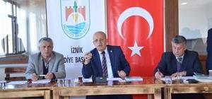 İznik Belediye Meclisi'nde komisyon seçimleri