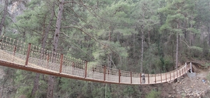Kapıkaya Kanyonu ile Varda Köprüsü birbirine bağlandı