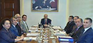 Mut OSB'nin kuruluş çalışmaları Vali Çakacak başkanlığında devam ediyor