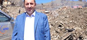 Çankırı'daki yangın