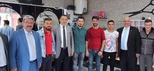 Mustafa Şükrü Nazlı, Altıntaş ve Dumlupınar'da destek istedi