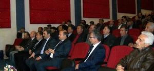 SGK İl Müdürlüğü Narman'da bilgilendirme toplantısı düzenledi