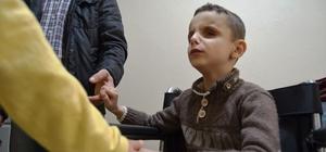 Koruma altındaki çocuklardan engelli çocuklara anlamlı yardım
