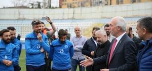 Kütahyaspor'a destek ziyareti