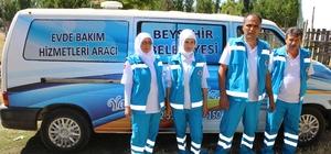 Beyşehir'de evde bakım hizmeti