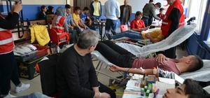 SÜ Kulu MYO'dan kan bağışına destek