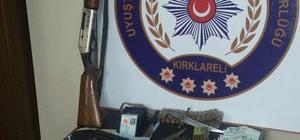 Kırklareli'nde suç örgütü operasyonu