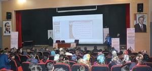 """Şenkaya'da """"Geleceğimiz için ailece el ele projesi"""" kapsamında eğitim programı düzenlendi"""