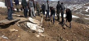 PKK'nın eylem aracı toprağa gömülmüş bulundu