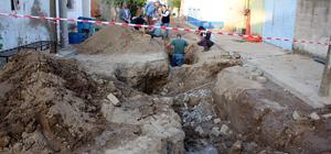 Aydın'da altyapı çalışmasında sikke bulundu