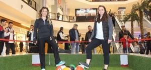 Küçükçekmece'de AVM spor turnuvaları başladı