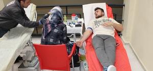 Babaeski Meslek Yüksekokulu'nda Kan Bağışı Kampanyası