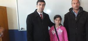 Engelli kıza eğitim desteği