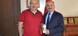 Başkan Konak'dan, Başkan Dinçer'e ziyaret