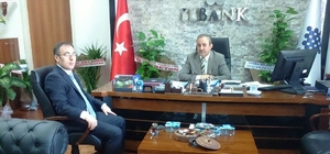 Kaymakam Akgül'den İller Bankasına ziyaret