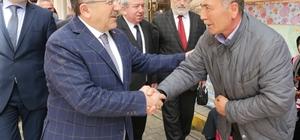 Başkan Gümrükçüoğlu, Şalpazarı'nda muhtarlarla buluştu