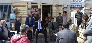 CHP Malatya İl Başkanı Enver Kiraz referandum gezilerini sürdürüyor